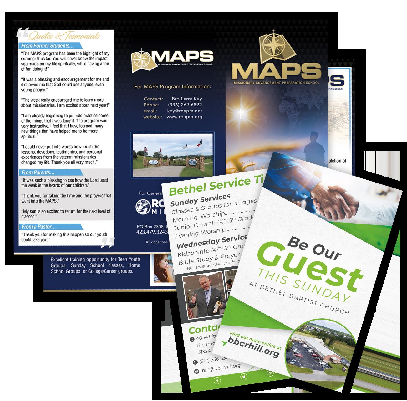 brochure tract