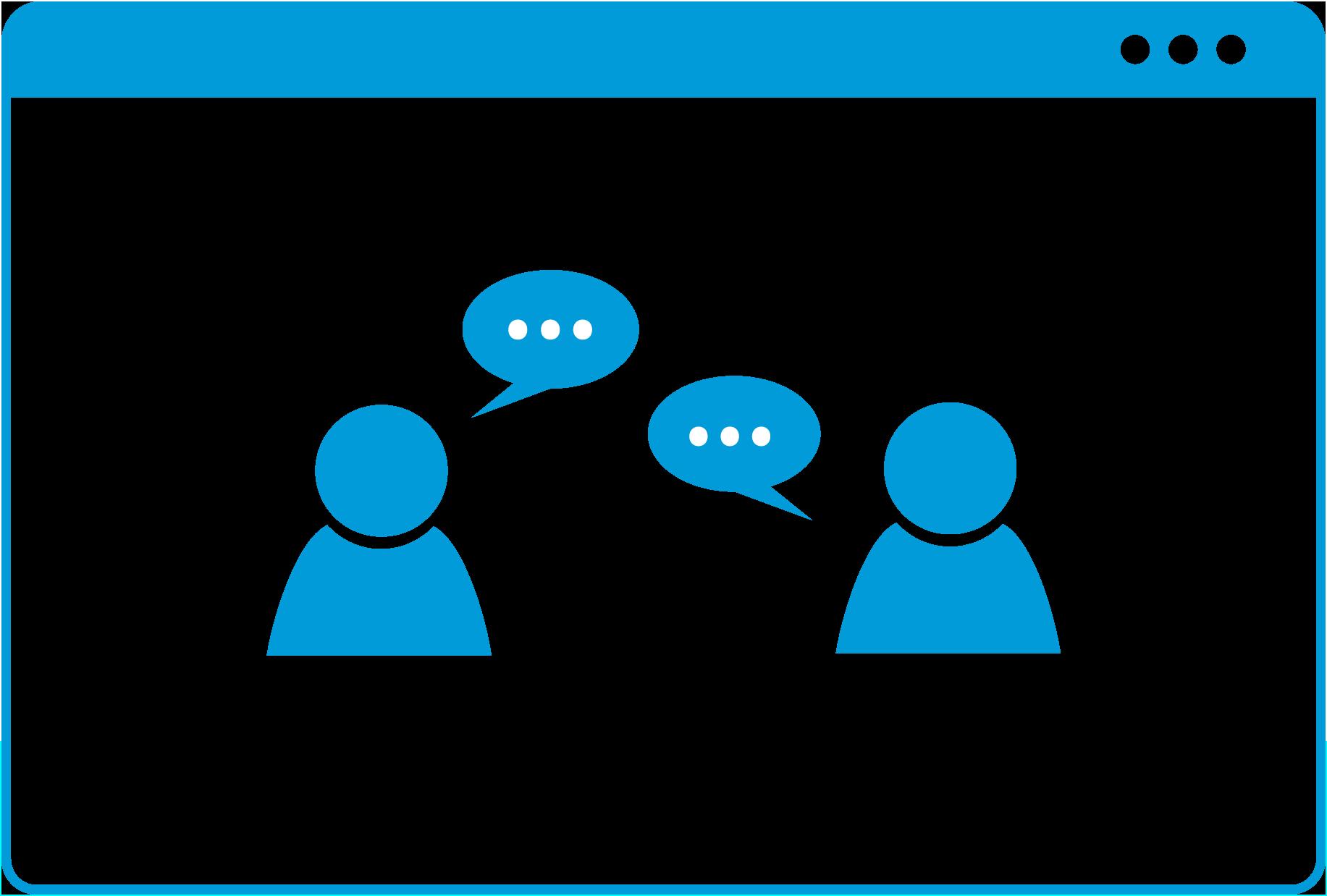 communication-blue